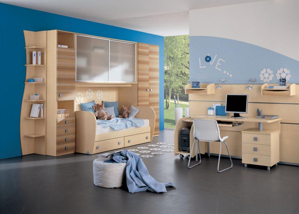 8be44c065 تصاميم غرف نوم اولاد حديثة - مجلة هي