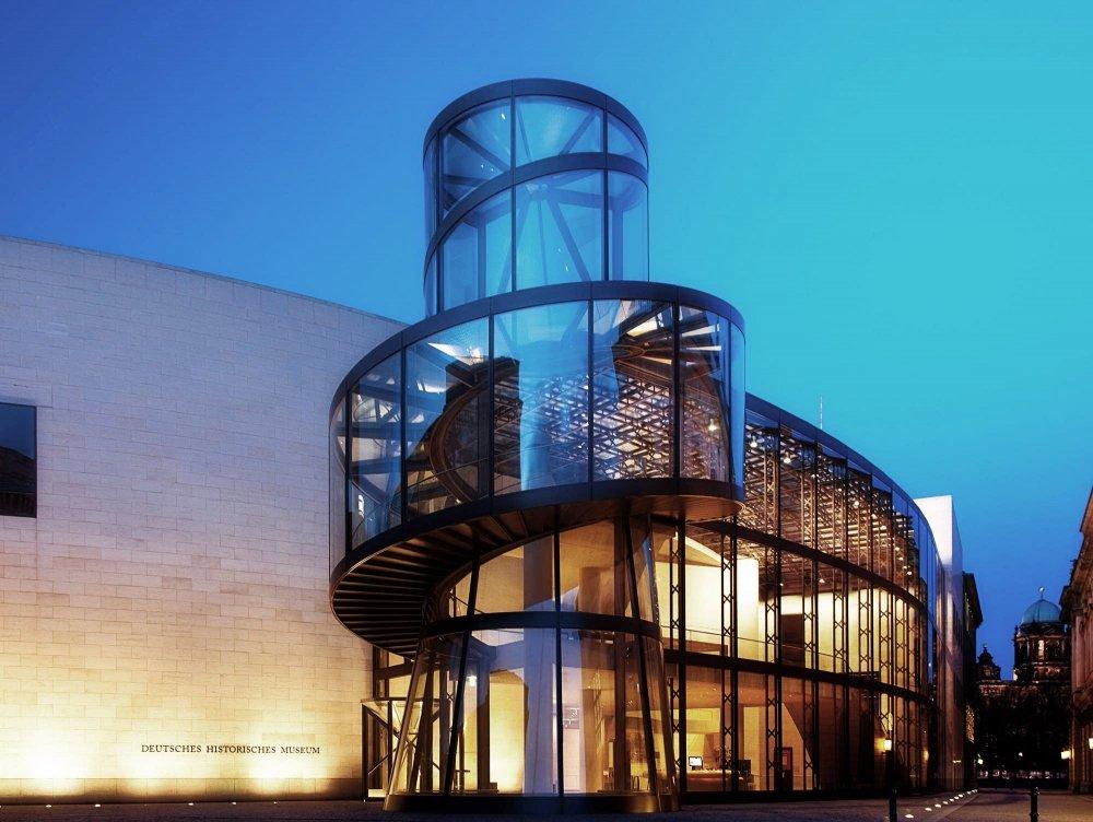 من إبداع آي أم بيه I.M.Pei مبنى المتحف التاريخي الألماني في برلين