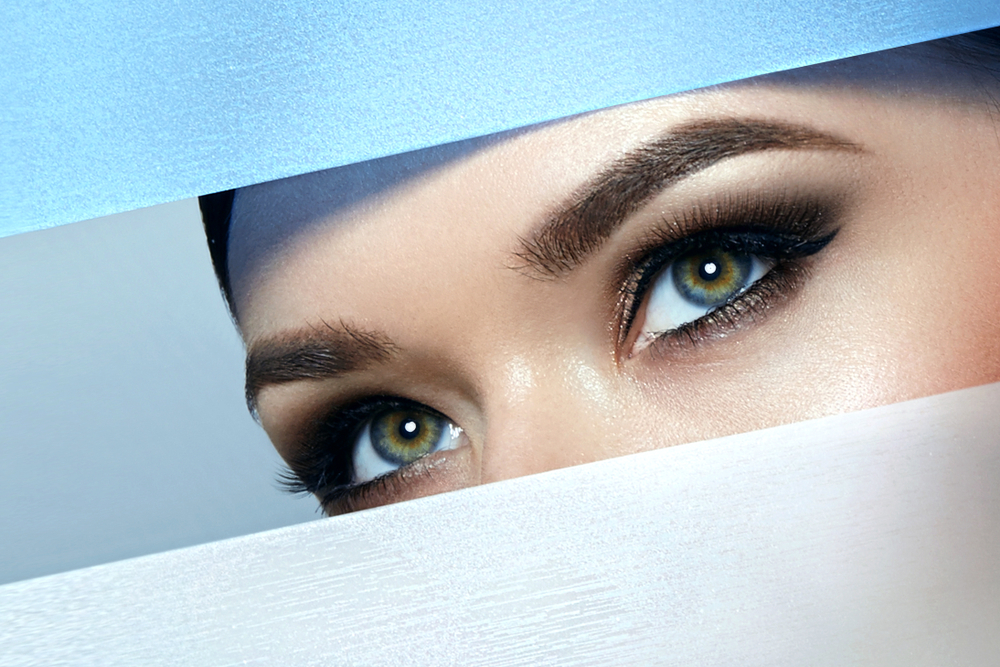الكحل العربي هو احدث صيحات المكياج البسيط لحماية العين من البكتيريا في اليوم الوطني السعودي 90 في زمن كورونا