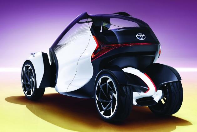 تويوتا i-TRIL.. سيارة للمستقبل - مجلة هي