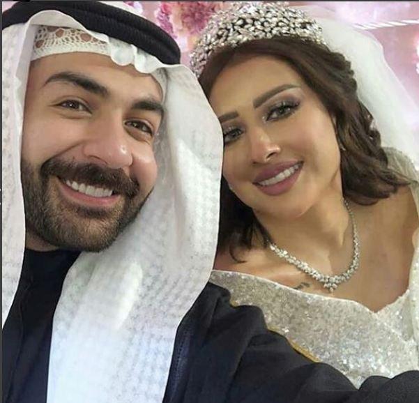 ca031b4b93288 فرح الهادي وعقيل الرئيسي يفاجئان الجمهور بحفل زفاف جديد..بالفيديو ...