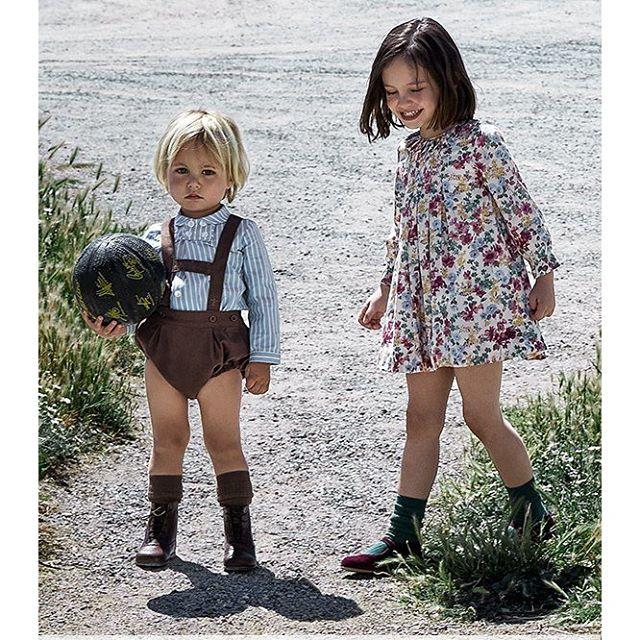 a781650ad ملابس اطفال انيقة من ماركات اسبانية للمناسبات الخاصة - مجلة هي