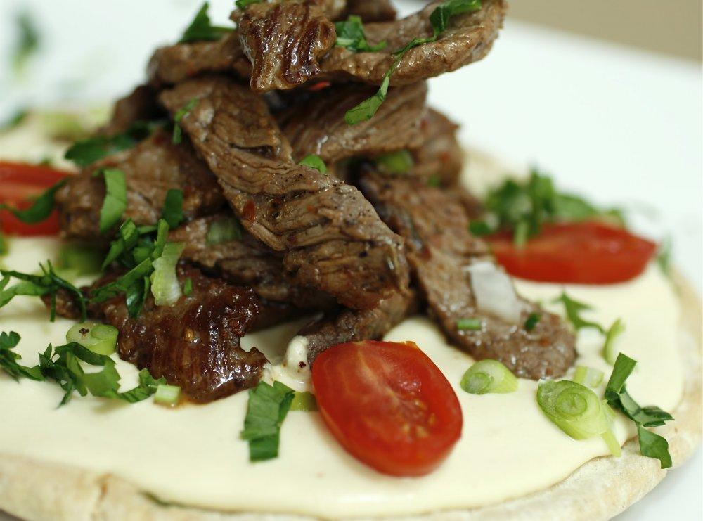 من اكلات صحية دايت باللحم لعيد الاضحى شاروما لحم