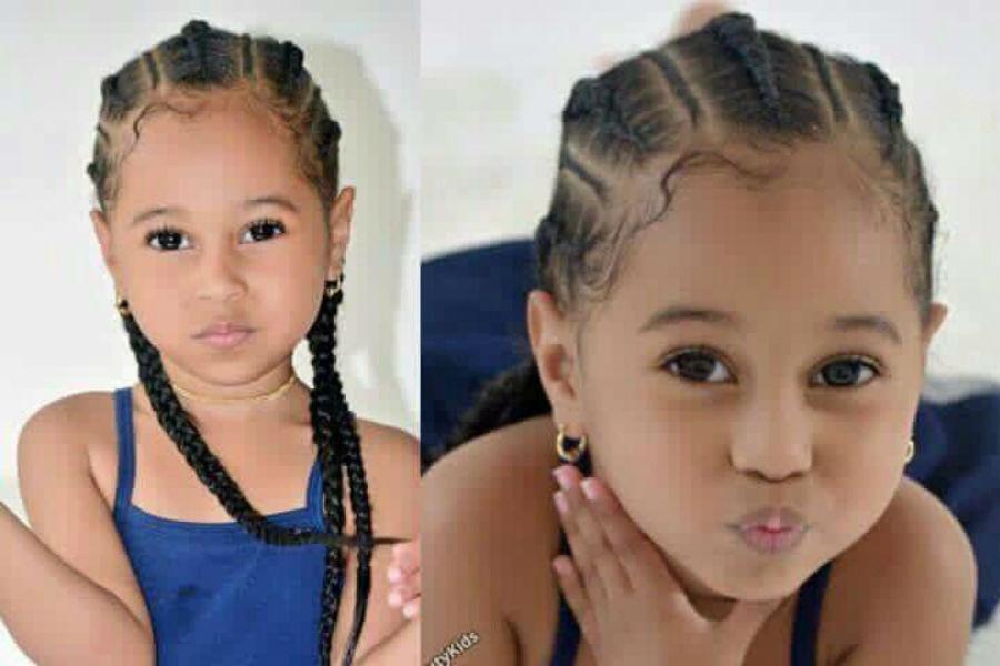 تسريحات شعر للاطفال الصغار
