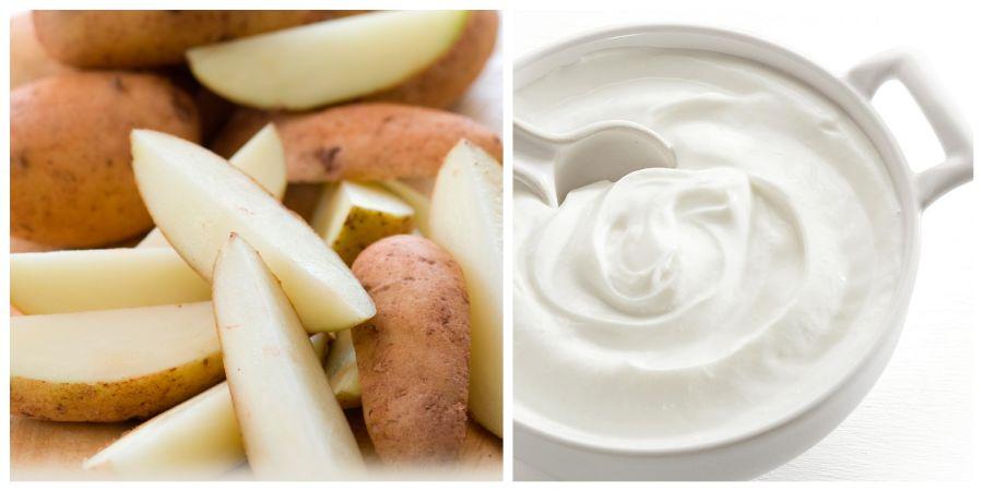 يعد رجيم البطاطس و الزبادي من الحميات الغذائية الآمنة لإنقاص الوزن