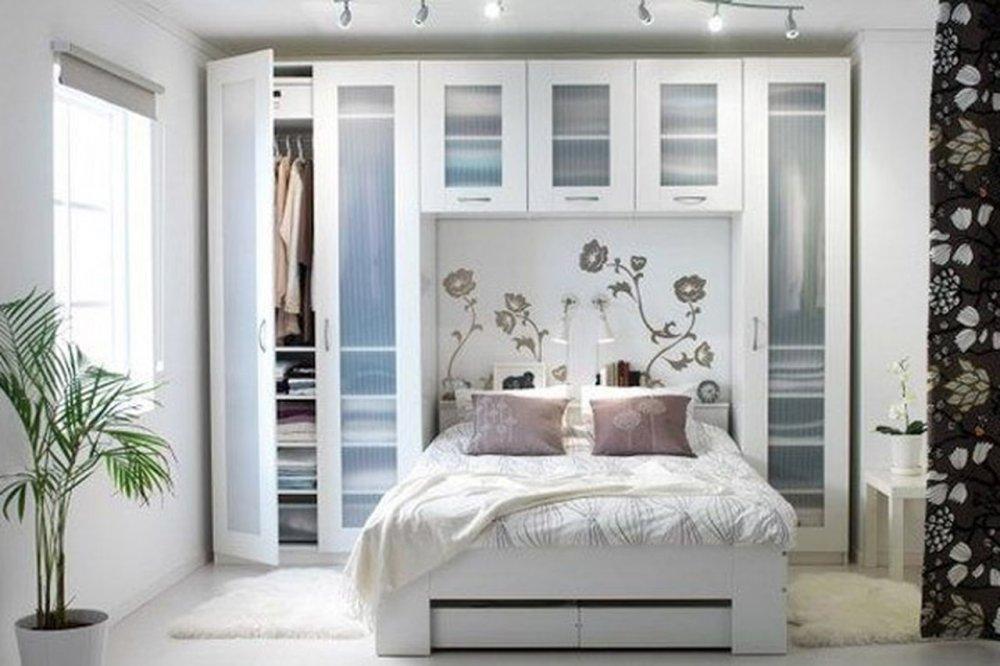 ديكورات غرف نوم صغيرة للعرسان مجلة هي