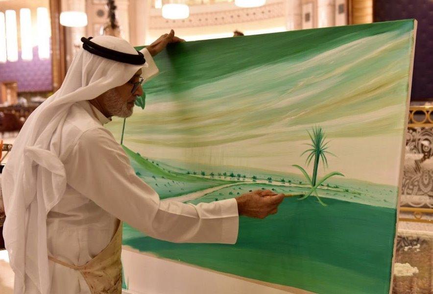 140 لوحة فنية لفناني وفنانات المملكة بمناسبة اليوم الوطني 88 مجلة هي