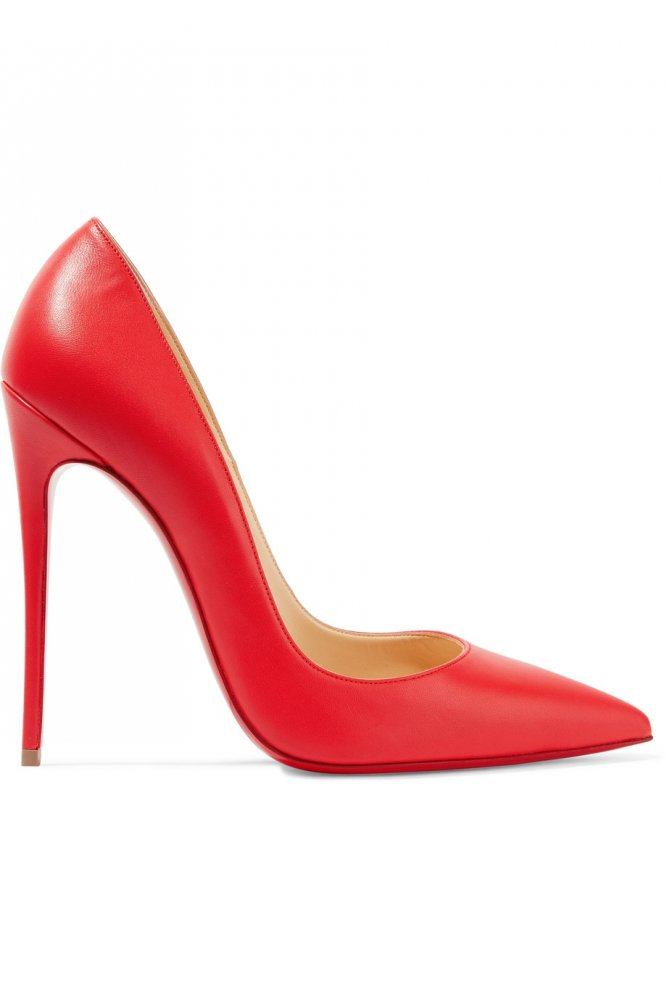 6625ca902 بالصور اجمل صنادل وأحذية كعب عالي 2017 باللون الأحمر - مجلة هي