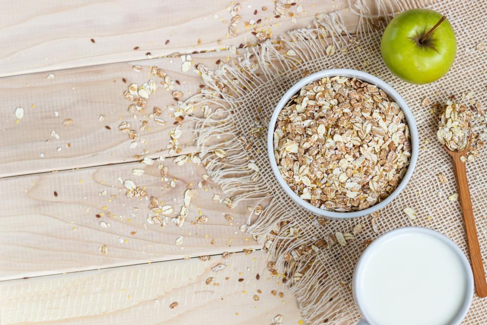 رجيم الشوفان والتفاح فعال للتخلص من الدهون العنيدة بالجسم
