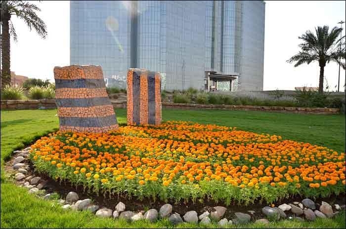 الرياض تشهد افتتاح 17 حديقة و ساحة و تتزين بـ 5 ملايين زهرة مجلة هي