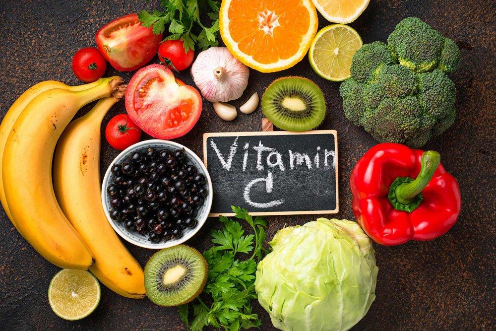 مصادر فيتامين سي من الاطعمة