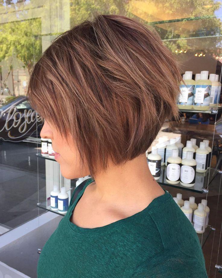 Best 25+ Layered bob haircuts ideas on Pinterest | Wavy bob hair ...