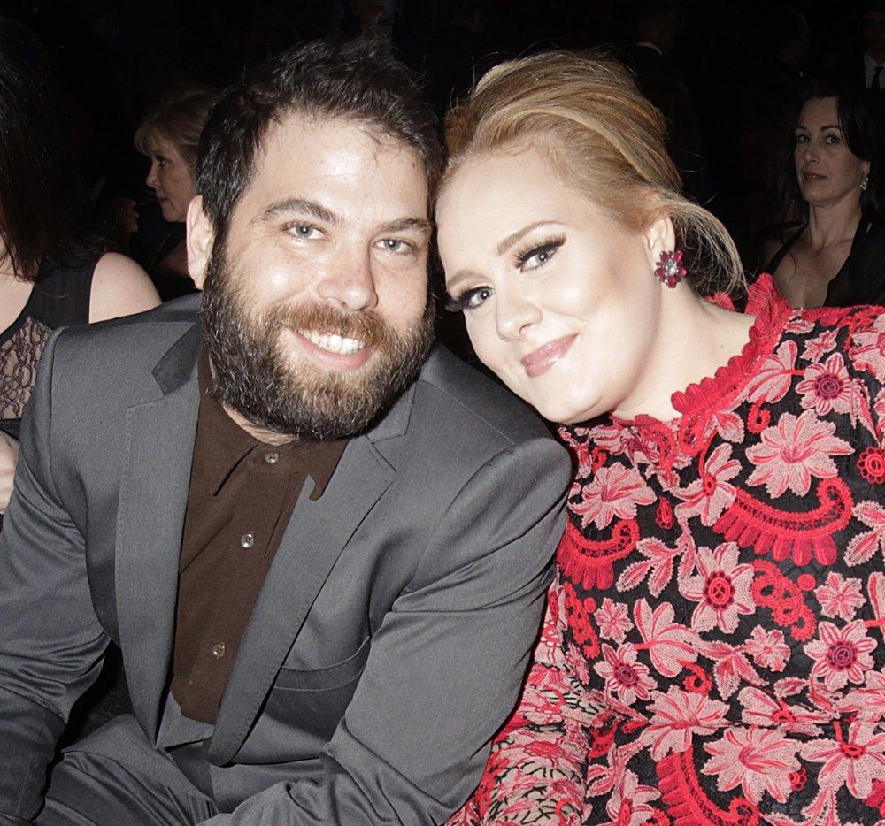 نتيجة بحث الصور عن أديل Adele وزوجها سايمون كونيكي