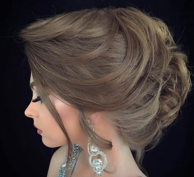 7bee15b197dbc تسريحات شعر خليجية للعروس - مجلة هي
