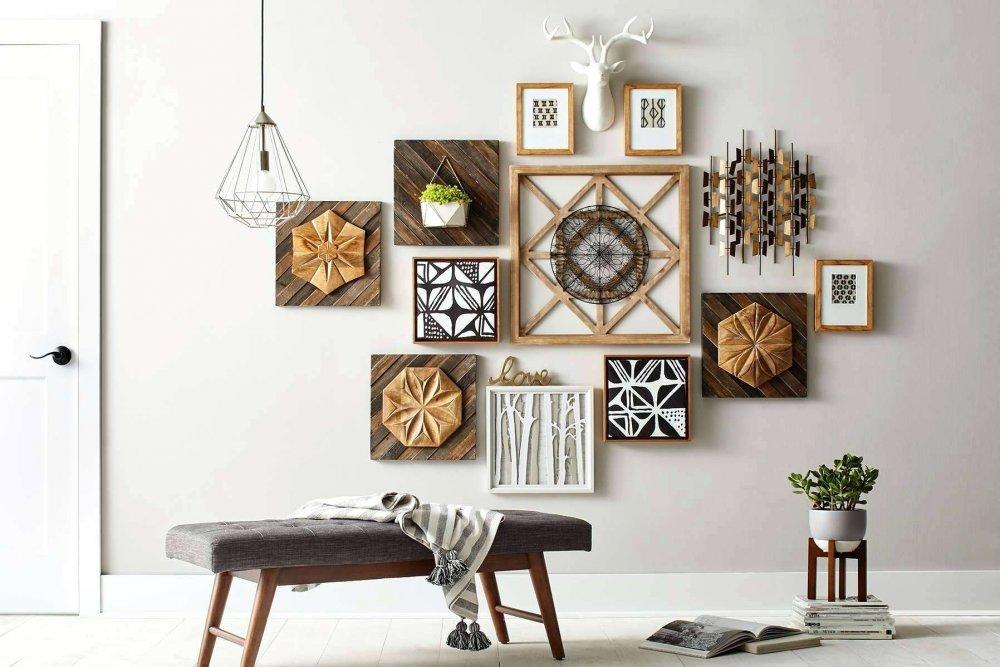 649ef8629 أفكار لتزيين الجدران بالصور - مجلة هي
