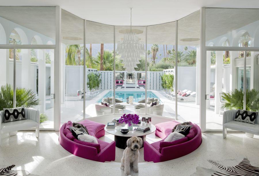 7483251f7 أجمل غرف معيشة في بيوت المشاهير لتستوحي ديكورات منزلك - مجلة هي