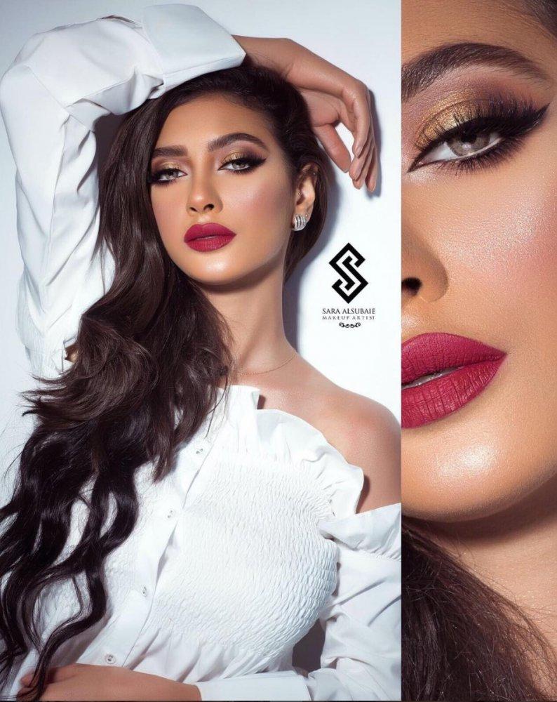 بالصور : أجمل مكياج العيون مع خبيرة التجميل السعودية سارة السبيعي - مجلة هي