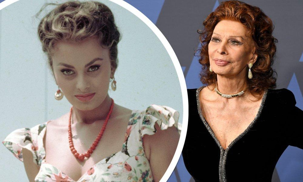 ايقونة الجمال صوفيا لورين بين الماضي والحاضر