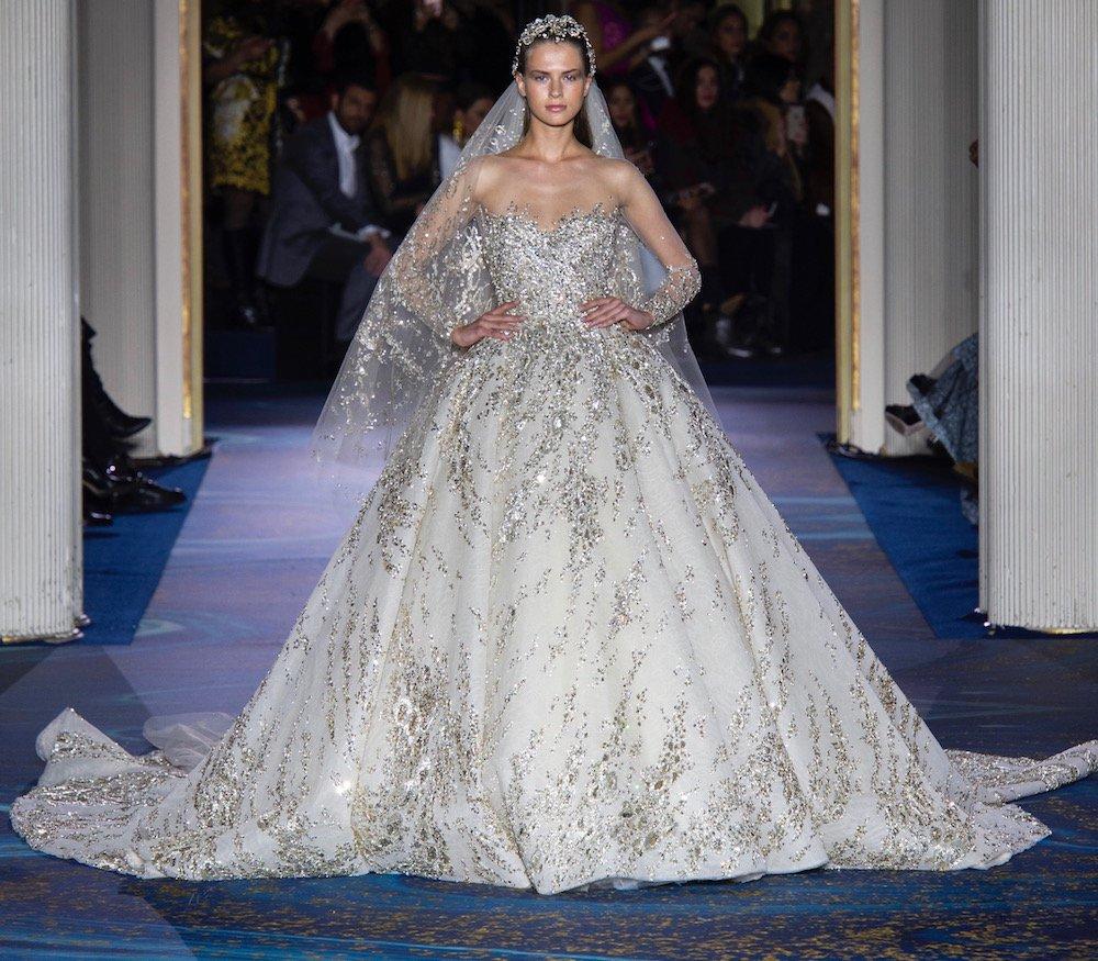 d6cddb04645a5 موديلات فساتين زفاف فخمة 2019 من انستقرام - مجلة هي