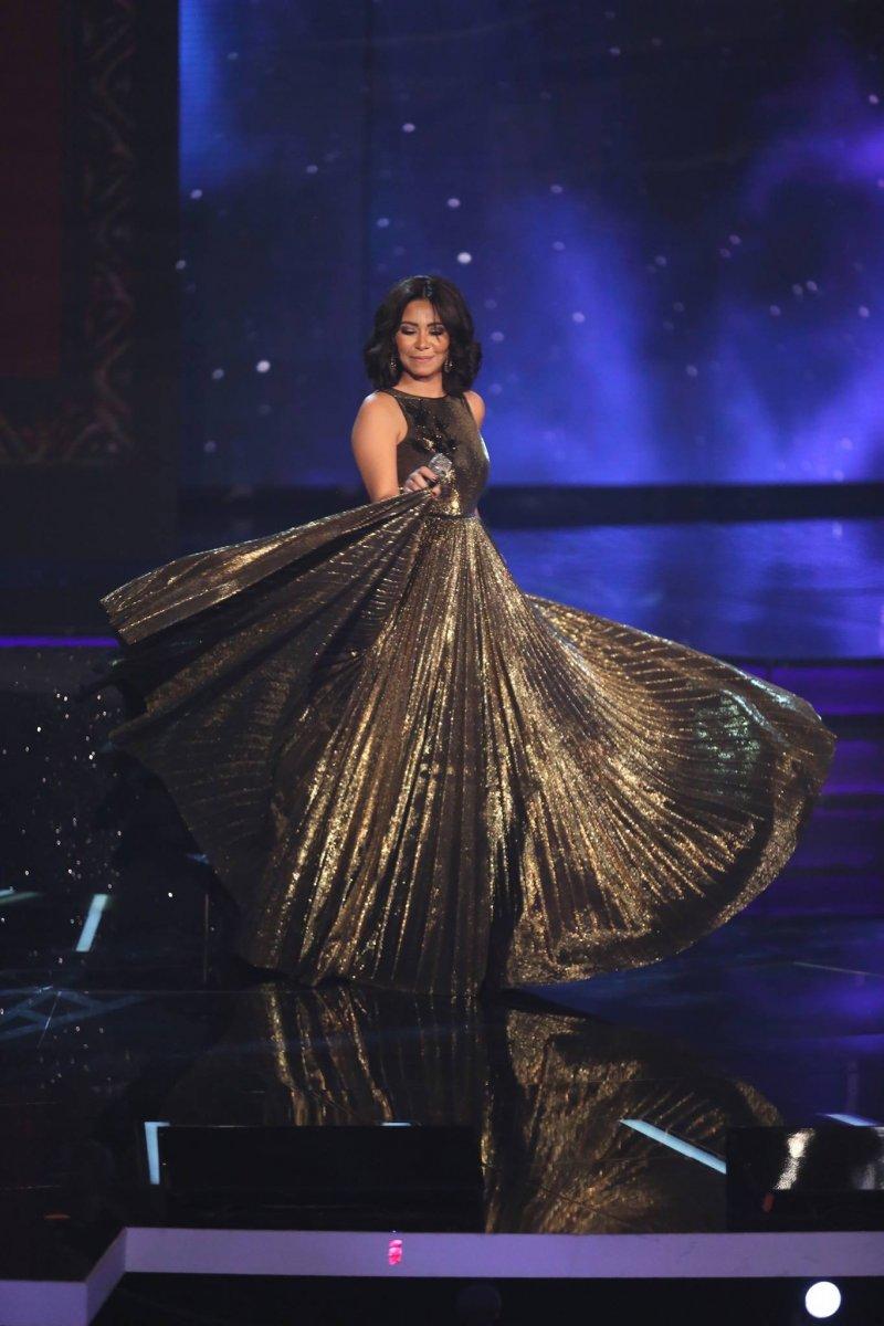 بالصور: شاهدي اطلالات شيرين عبد الوهاب بأجمل الفساتين - مجلة هي