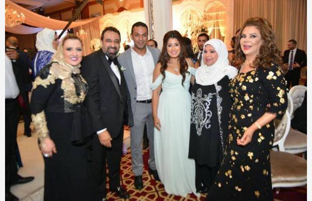 صفاء ابو السعود في زفاف ابن مجدي عبد الغني