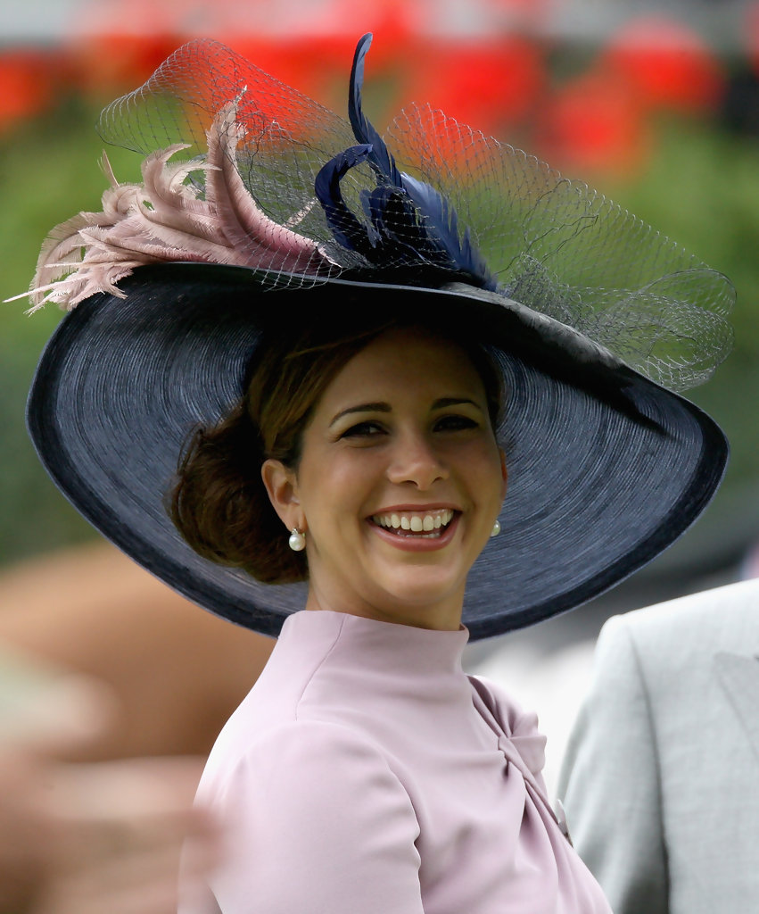 Princess Haya Al Hussein girl and horse