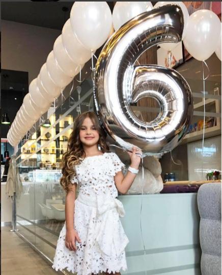 ابنة جويل تحتفل بعيد ميلادها
