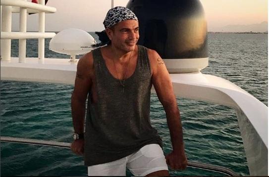نحافة عمرو دياب