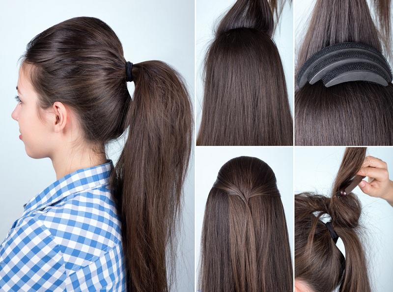 Grade 6 Hairstyles: خطوات عمل تسريحات شعر بسيطة..بالصور