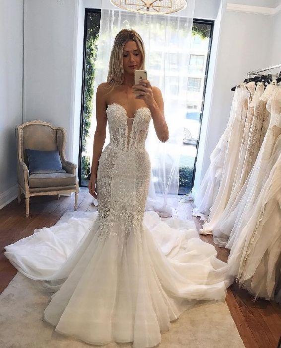 7325cae72 أجمل فساتين الزفاف على الإنستغرام - مجلة هي
