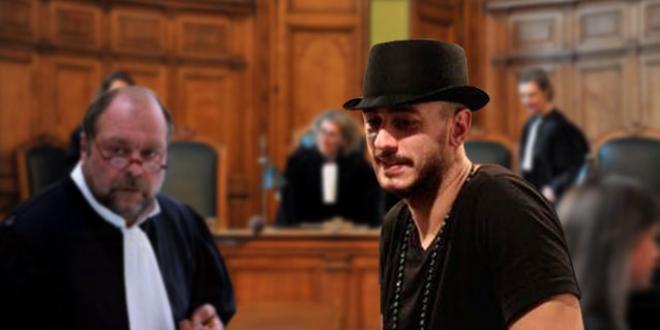 سعد لمجرد في المحكمة