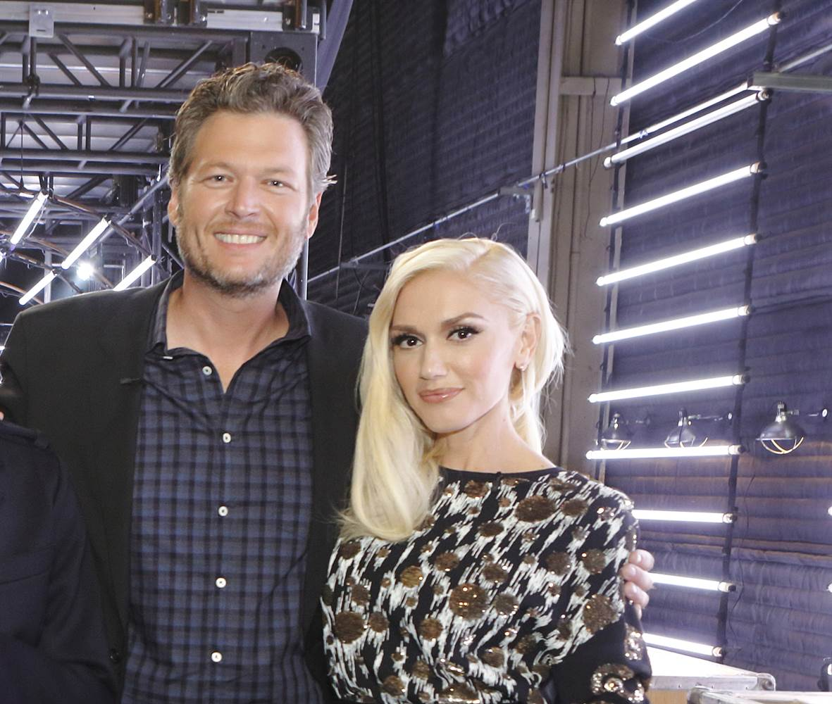 Blake Shelton and Gwen Stefani