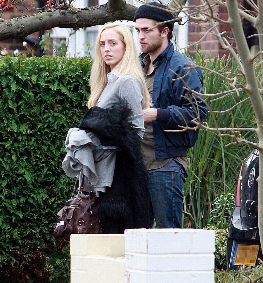 Lizzy and Robert Pattinson