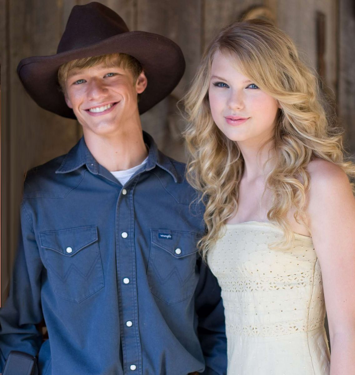 Lucas Till and Taylor Swift