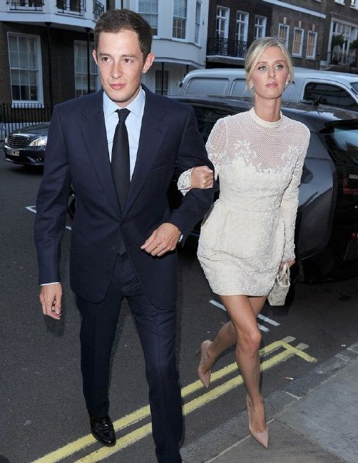 Nicky married James Rothschild
