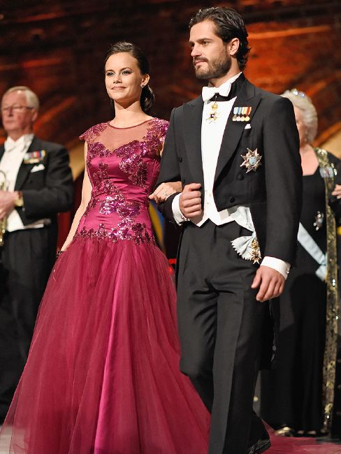 Prince Carl Philip of Sweden and his wife