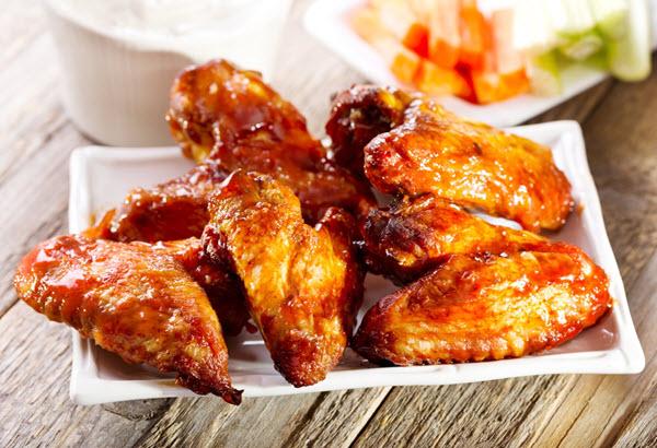 جوانح دجاج بالرمان