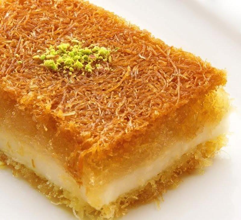طريقة عمل الكنافة بالجبن والقشطة   HiaMag